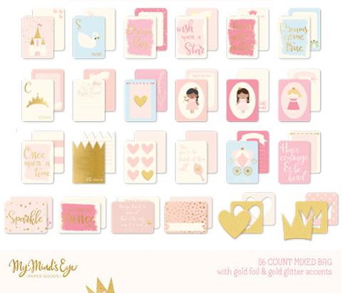 Журнальные карточки 7,5 х10 см - Penelope-My Mind's Eye - 24 шт.
