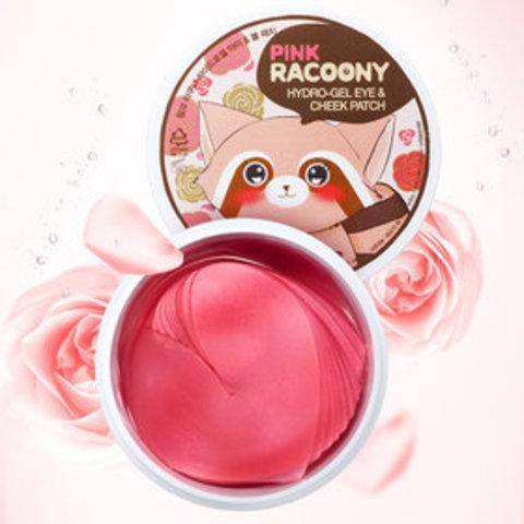 Гидрогелевые патчи для век и щек Secret Key Pink Racoony HydroGel Eye and Cheek Patch