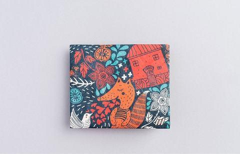 Экологичный бумажник New Foxes
