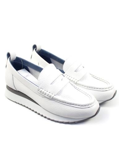 белые туфли Alpino