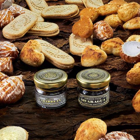 Табак WTO 20 г Caribbean Blend Cream Cookies (ВТО Карибский Бленд Сливочное Печенье)