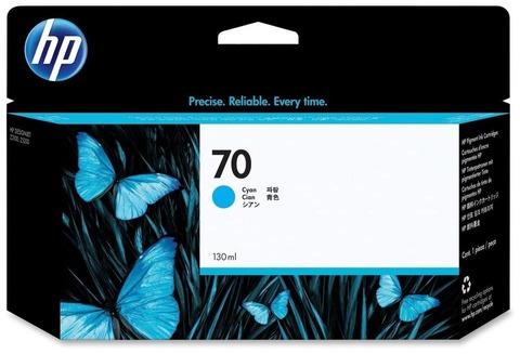 Оригинальный картридж струйный HP C9452A 70 голубой
