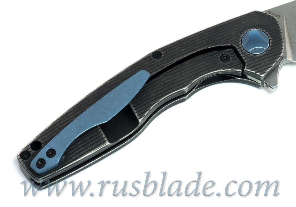 CKF S.S.E. BLACK Knife M390 Limited - фотография