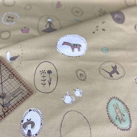 Ткань для пэчворка, хлопок 100% (арт. X0425)