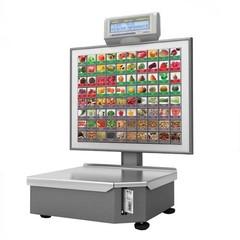 Штрих-ПРИНТ С 15-2.5 Д1И1  весы с печатью этикетки  (v.4.5) (Ethernet),  80 крупных кнопок