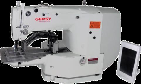 Закрепочная промышленная швейная машина с сенсорным управлением Gemsy GEM 1965 B | Soliy.com.ua