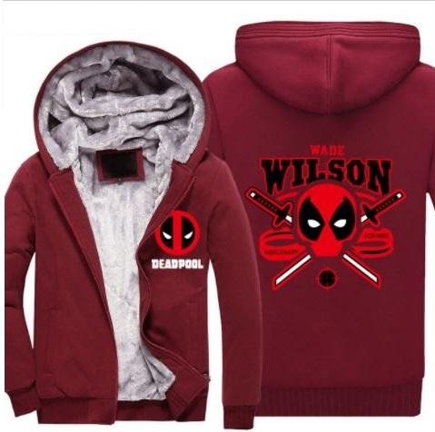 Куртка утепленная демисезонная Дэдпул — Jacket Deadpool