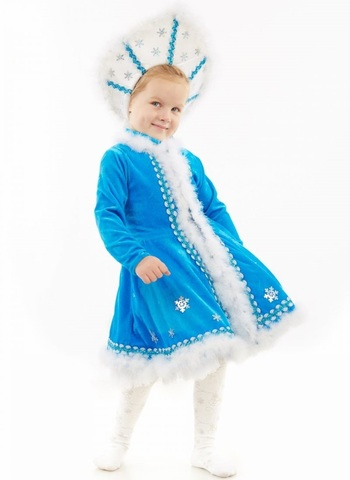 Костюм Снегурочки Малышка 1