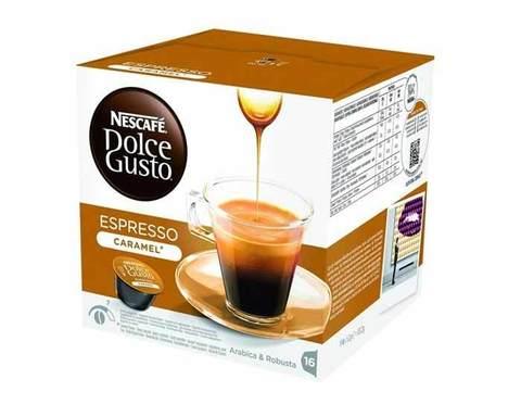 Кофе в капсулах Dolce Gusto Espresso Caramel, 16 капсул