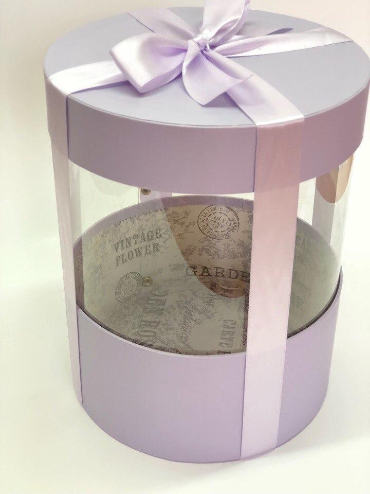 Коробка аквариум 16 см Цвет : Светло серый. Розница 350 рублей .