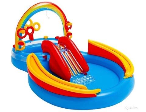 Детский бассейн INTEX 2,97*1,93*1,35cm.