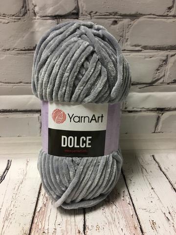 Пряжа Dolce YarnArt  782 светло серый