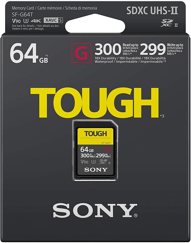 Купить карту памяти SD SF64TG UHS-II G TOUGH в интернет-магазине Sony Centre