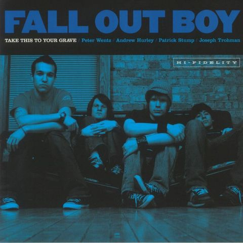 Виниловая пластинка. Fall Out Boy – Take This To Your Grave