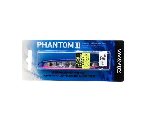 Пилькер Daiwa Phantom III 40 г. / Ch Blue/Pink (04823265)