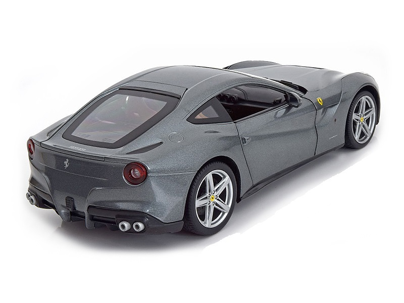 Коллекционная модель Ferrari F12 Berlinetta 2012 Grey Metallic