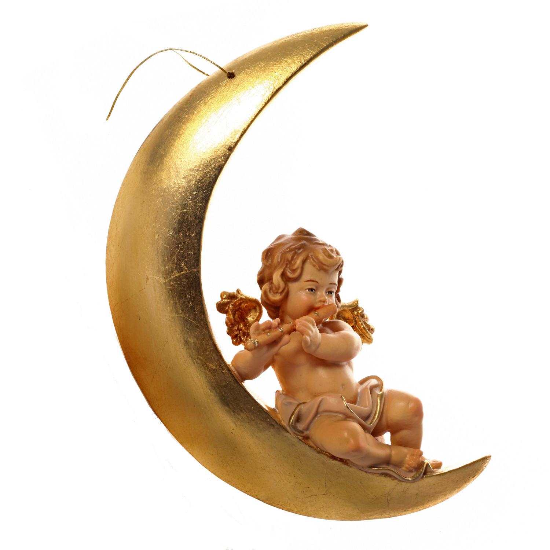 Амур на Луне с флейтой