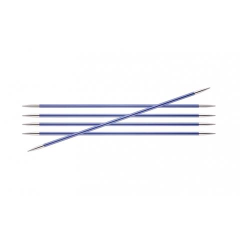 Спицы KnitPro Zing чулочные 4,5 мм/20 см 47040