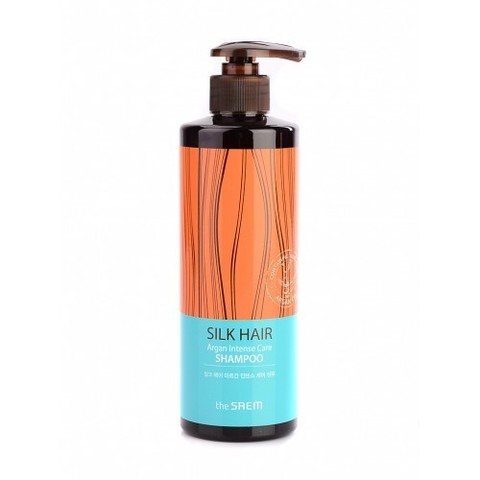 the Saem SILK HAIR Argan Intense Care Shampoo