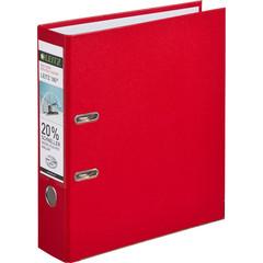 Папка-регистратор Leitz 180° 80 мм красная