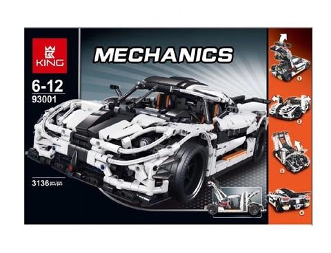 Конструктор King Mechanics 93001 (23002) Суперкар Кенигсегг