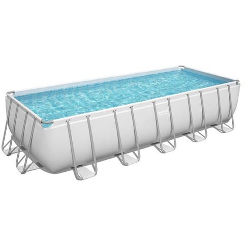 Каркасный бассейн Bestway 5611Z (640х274х132 см) с картриджным фильтром, лестницей и тентом / 25300