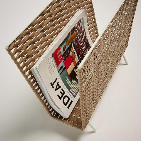 Подставка для журналов Shelton из натурального ротанга