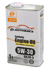 AUTOBACS ENGINE OIL SYNTHETIC 5W30 SN/GF-5 (1л)