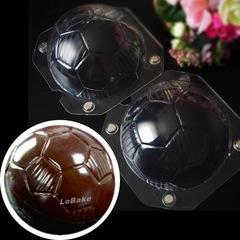 Поликарбонатная форма  для шоколада 3D Мяч (без магнитов) диаметр мяча 150мм