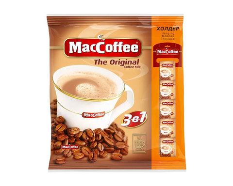 купить Кофе растворимый MacCoffee 3в1, 100 шт по 20 г