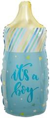 К Мини-фигура, Бутылочка для малыша (звездочки), Голубой, 17/43 см, 5 шт, 1 уп.