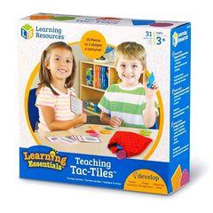 LER9075 Развивающая игра Тактильные плитки Learning Resources упаковка