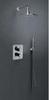 Встраиваемый термостатический смеситель для душа ALEXIA 362411SNC никель, на 1 выход - фото №2