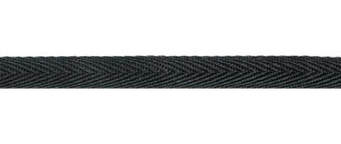 Лента киперная 13 мм, 100 м, черный