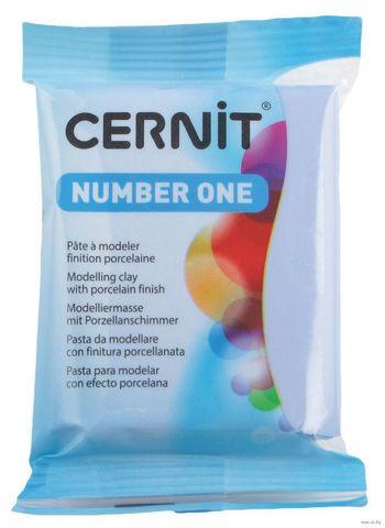 Полимерная глина CERNIT N1 56г, небесно-голубой 214