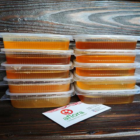 Фотография Пробник Знатного меда (акация+разнотравье) / 100 гр купить в магазине Афлора