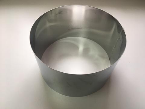 Кольцо-резак для торта H15 D26, нерж. сталь 1 мм.