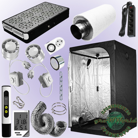 120х120х200 PROBOX  APOLLO 8 LED SUPERSILENT