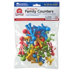 Набор фигурок для счета и сортировки Моя семья, 24 шт. Learning Resources, упаковка