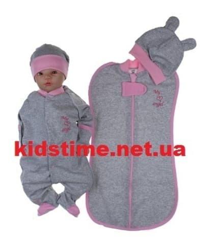 Набор одежды для новорожденного с начесом Ангел
