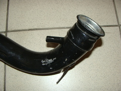 Труба топливоналивная левая 3163 (металл ст. обр.)