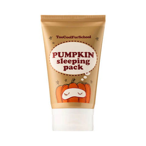 Too Cool For School Ночная маска для лица с тыквой Pumpkin Sleeping Pack, 30 мл