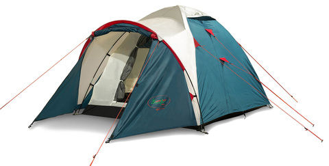 Палатка Canadian Camper KARIBU 4, цвет royal, главное фото.