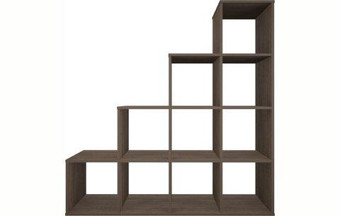 Стеллаж Polini Home Smart Каскадный 10 секций, трюфель