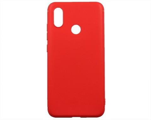 Чехол для Xiaomi Mi8 | силикон красный
