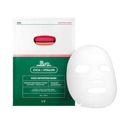 VT Cosmetics Маска с пептидами укрепляющая Cica Hyalon Cica Nutrition Mask