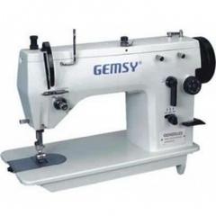 Фото: Швейная машина зигзагообразного стежка Gemsy GEM 20U43