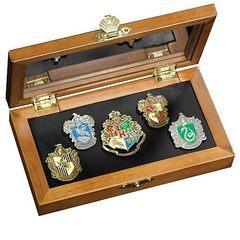 Harry Potter - набор пинов HOGWARTS House Pins