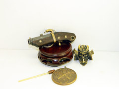 Miniature Japan matchlock pocket pistol
