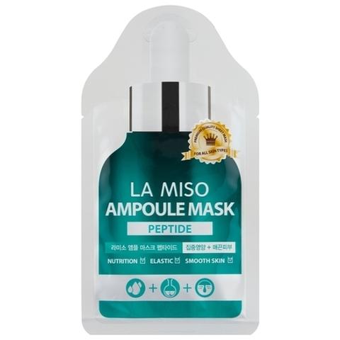 LA MISO Маска ампульная с пептидами, 25г
